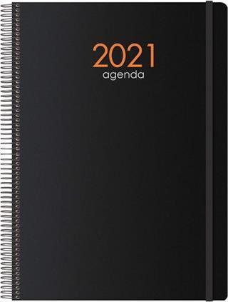 Agenda SYNCRO DÍA PÁGINA 15 X 21 CM NEGRO DOHE ...