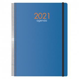 Agenda SYNCRO DÍA PÁGINA 21 X 29.7 CM AZUL DOHE