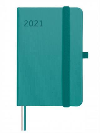 Agenda textura M2 1 DÍA PÁGINA 2021 TURQUESA ...