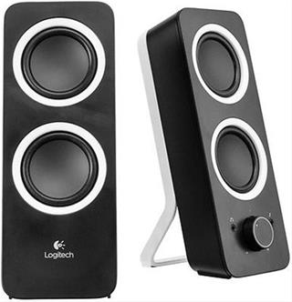 Altavoces 2.0 Logitech Multimedia Speakers Z200 Negro