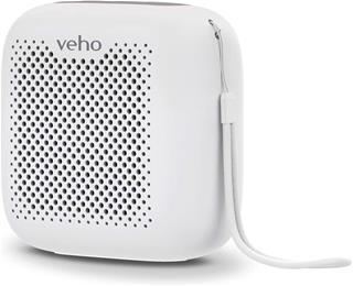 Altavoz Veho MZ-4 Bluetooth TWS portátil blanco