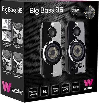 ALTAVOZ WOXTER BIG BASS 95
