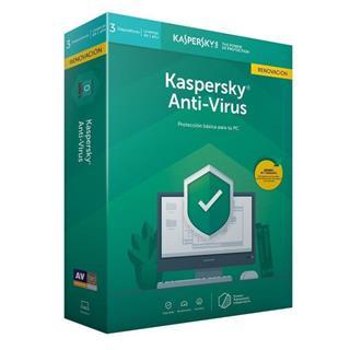 KASPERSKY ANTIVIRUS 2020 3 LICENCIAS RENOVACI