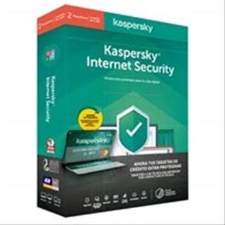 Antivirus Kaspersky Internet Security 2020 2 licencias