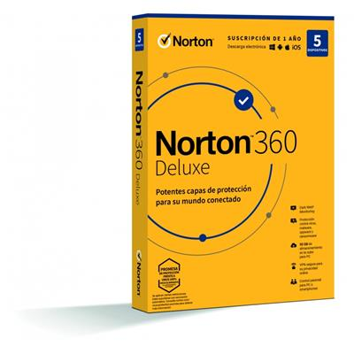 Antivirus Norton 21401418 360 Deluxe 5 ...