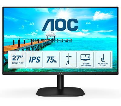 AOC 27IN LCD 1920X1080 16:9 4MS     27B2H/EU 1000:1 VGA/HD