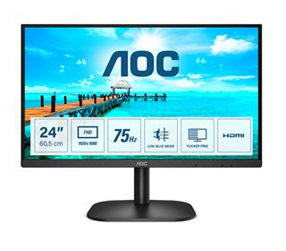 AOC BASIC B2C  HDMI+VGA  4MS RT AND HF