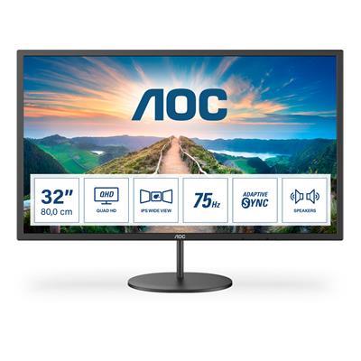 AOC MONITOR IPS 32IN 16:9 QHD 75HZ HDMI / MHL DP 2W