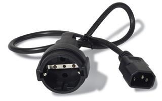 APC POWER CORD                      IEC 320 C14 TO SCHUKO RECEPT