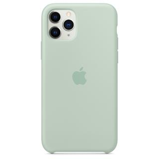 Apple FUNDA IPHONE 11 PRO MAX SILICONE CASE VERDE ...