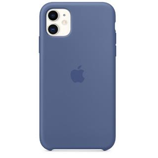 Apple FUNDA IPHONE 11 SILICONE CASE AZUL LINO