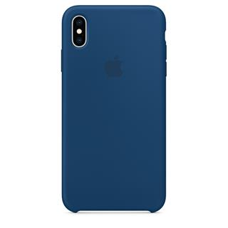 Apple FUNDA IPHONE XS MAX SILICONE - AZUL ...