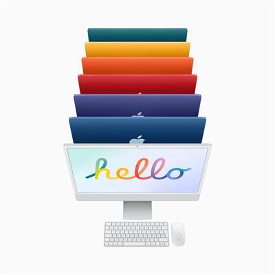 "All in One Apple iMac M1 24"" 8 GPU 8GB 512GB 4.5K"