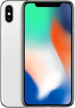 "Apple iPhone X 3GB 256GB 5.8"" plata reacondicionado CPO"