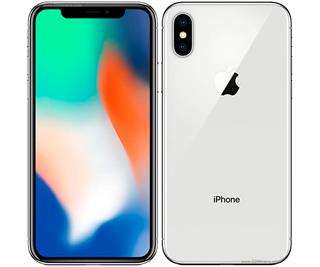 APPLE IPHONE X 64GB PLATA REACONDICIONADO CPO MÓVIL 4G 5.8´´ SUP