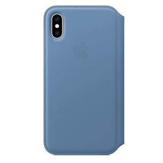 APPLE IPHONE XS LEATHER FOLIO         CORNFLOW