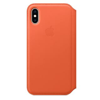 APPLE IPHONE XS LEATHER FOLIO         SUNS