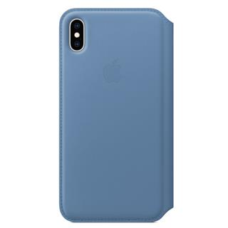 APPLE IPHONE XS MAX LEATHER FOLIO     CORNFLOW