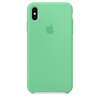 Apple iPhone XS Max Silicone Case - Spearmint