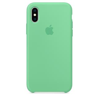 Apple iPhone XS Silicone Case - Spearmint