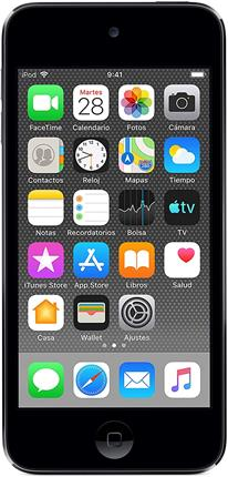 """Apple iPod Touch 128GB 4"""" gris espacial"""