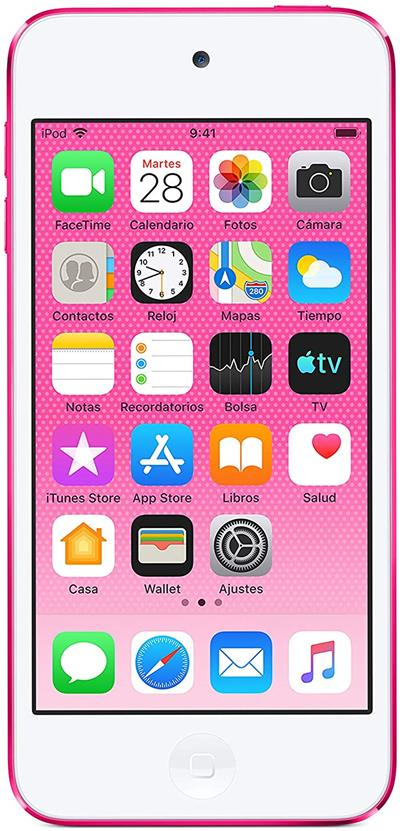 """Apple iPod Touch 256GB 4"""" rosa"""