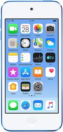 "Apple iPod Touch 32GB 4"" azul"