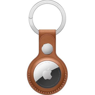 Apple Llavero de Piel Marrón para AirTag