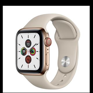 APPLE WATCH SERIE 5 GPS + 4G 44MM GOLD STAINLESS STEEL + CORREA