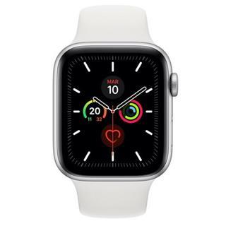 Apple Watch Series 5 GPS 44mm Aluminio Plata Correa Deportiva Bl