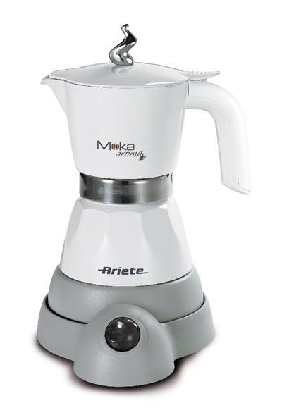 Ariete Moka Electric. white