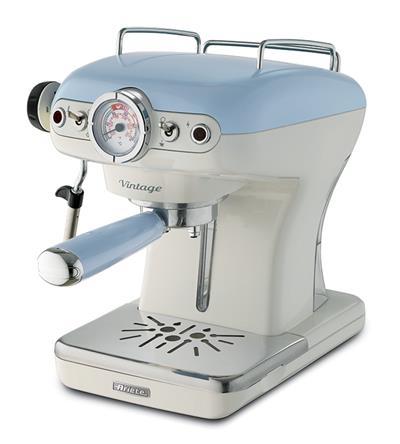 Ariete Vintage Espresso Machine. blue