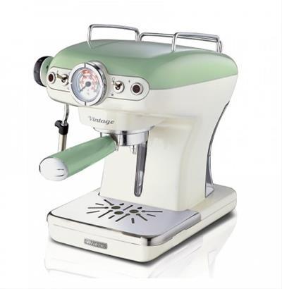 Ariete Vintage Espresso Machine. green