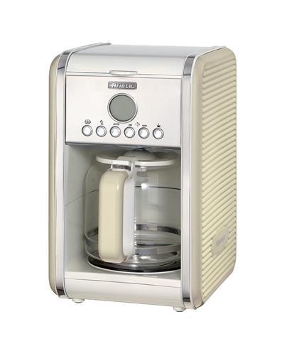 Ariete Vintage Filter Coffee Machine. beige