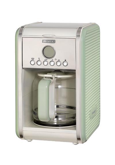 Ariete Vintage Filter Coffee Machine. green