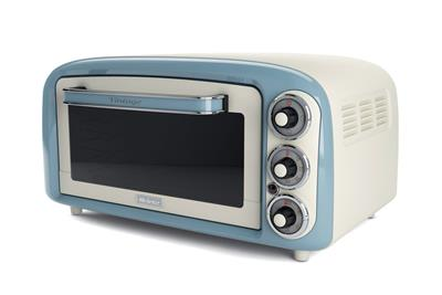 Ariete Vintage Mini Oven. blue