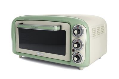 Ariete Vintage Mini Oven. green