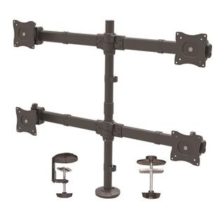 STARTECH 4-MONITOR MOUNT FOR UP TO 27IN  MONITORS - HEAVY DUTY S