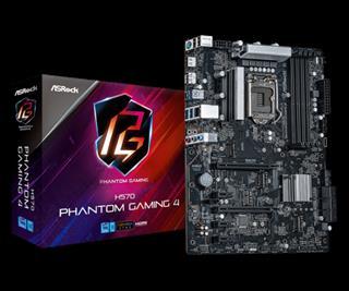 Asrock H570 Phantom Gaming 4 Intel H570 LGA 1200 ...