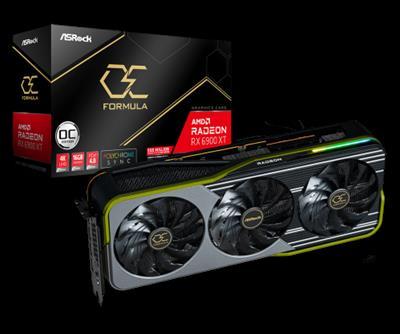 Asrock Radeon RX 6900 XT OC Formula AMD 16 GB ...