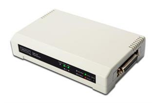 ASSMANN DIGITUS 2+1 PORT PRINT SERVER   1X ...
