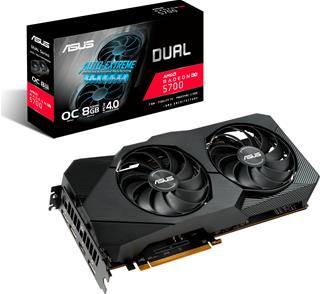 Tarjeta Gráfica Asus  Dual -RX5700XT-O8G-EVO AMD  ...