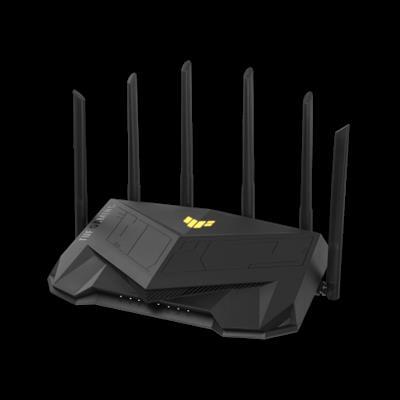 ASUS TUF Gaming AX5400 router inalámbrico Gigabit Ethernet Doble banda (2.4 GHz / 5 GHz) Negro