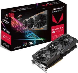 Tarjeta Gráfica Asus Rog Strix RX Vega 56 OC 8GB HBM2 Gaming