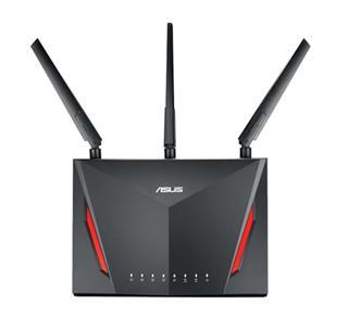 Asustek Rt-Ac86u Ac2900 Gaming Router Wire·