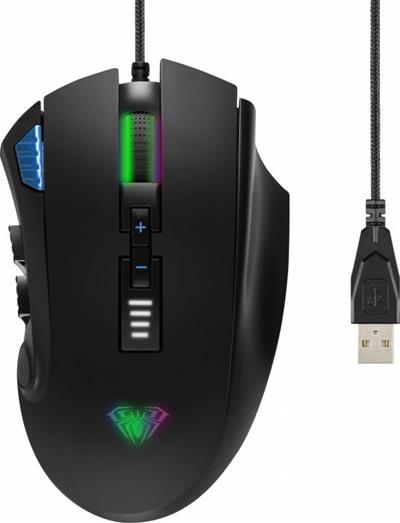 Ratón Aula Reaper con cable USB 10000DPI RGB ...