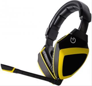 Auricular de Diadema Hiditec Xanthos Microfono Integrado Amarill