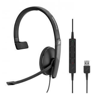 Auricular Sennheiser SC 135 USB con cable con micrófono