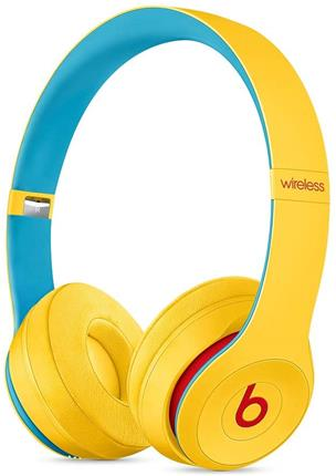 Auriculares Beats Solo3 Club Collection amarillos inalámbricos con micrófono