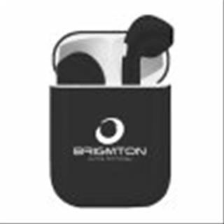 Auriculares BRIGMTON CON BASE DE CARGA NEGRO ...